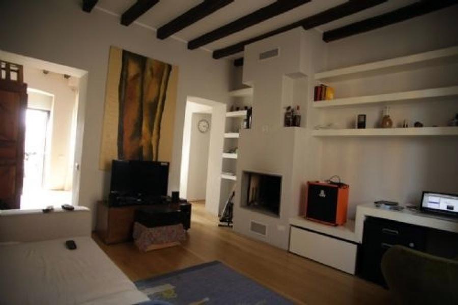 Soffitto Di Legno Bianco : Imbiancatura pareti e travi soffitto ...
