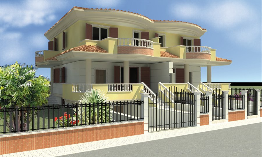 Casa bifamiliare crevalcore bologna habitissimo for Stampare piani di casa