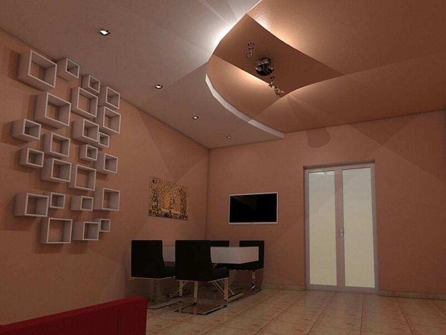 faretti per soggiorno ~ idee creative di interni e mobili - Esempi Cartongesso Cucina Soggiorno