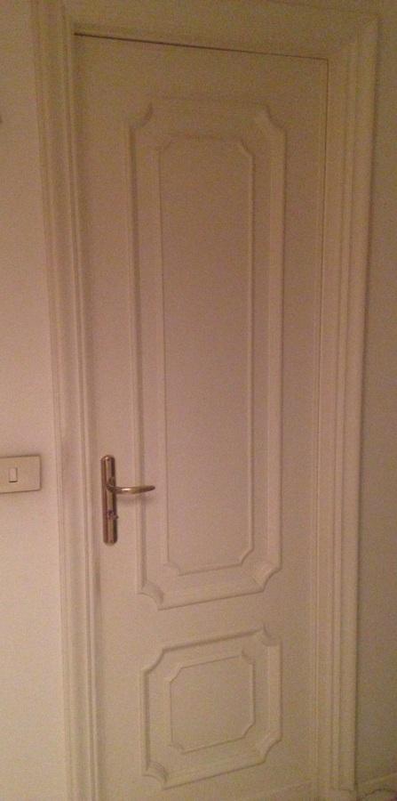 Verniciatura porte interne e braghettoni appartamento ...
