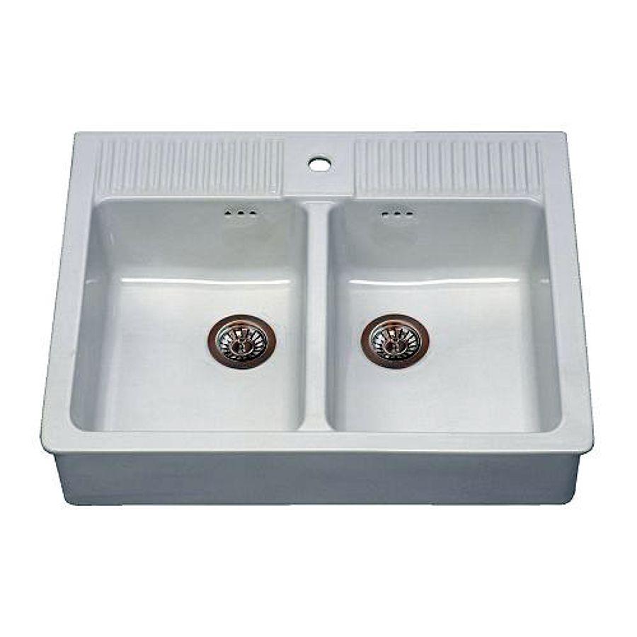Installare un lavello cucina di ceramica su staffe metalliche al muro milano milano Lavelli cucina in ceramica