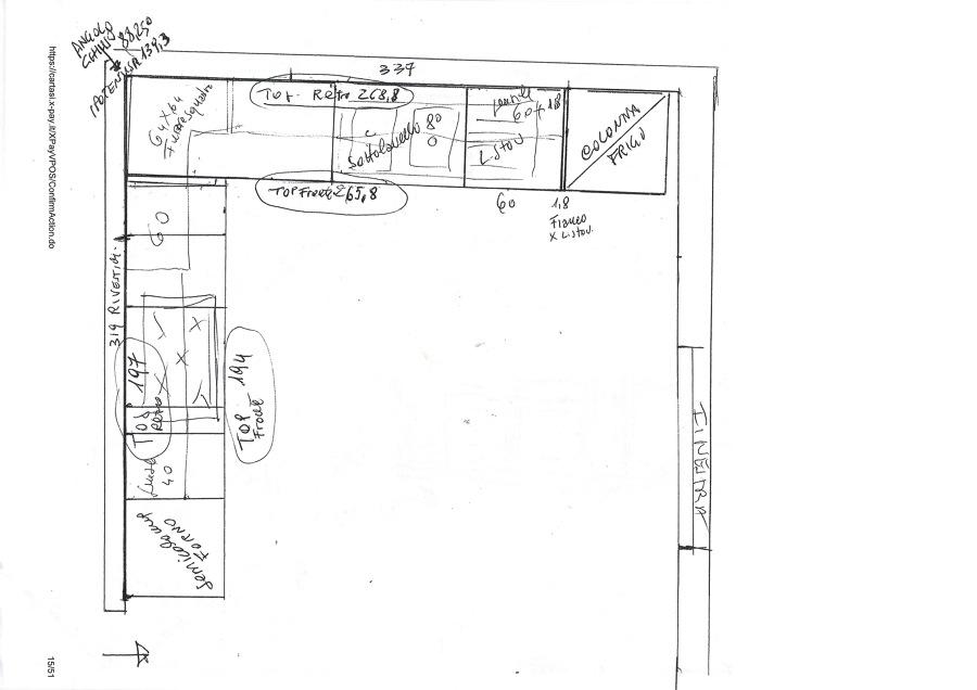 Dimensioni mobili cucina componibile cucine componibili for Misure mobili cucina