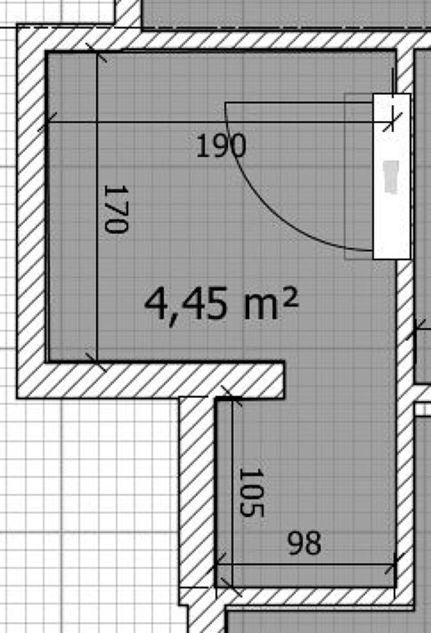 Ristrutturazione bagno di 4 5 metri quadri giussano - Pianta bagno ...