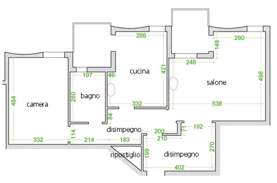 Ristrutturazione integrale casa 80 mq san giorgio a - Costo ristrutturazione casa 80 mq ...
