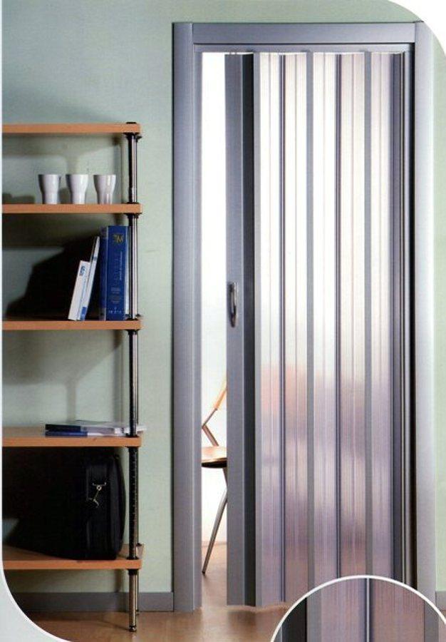 Installare porta a soffietto su misura con pannelli for Porte a soffietto su misura leroy merlin