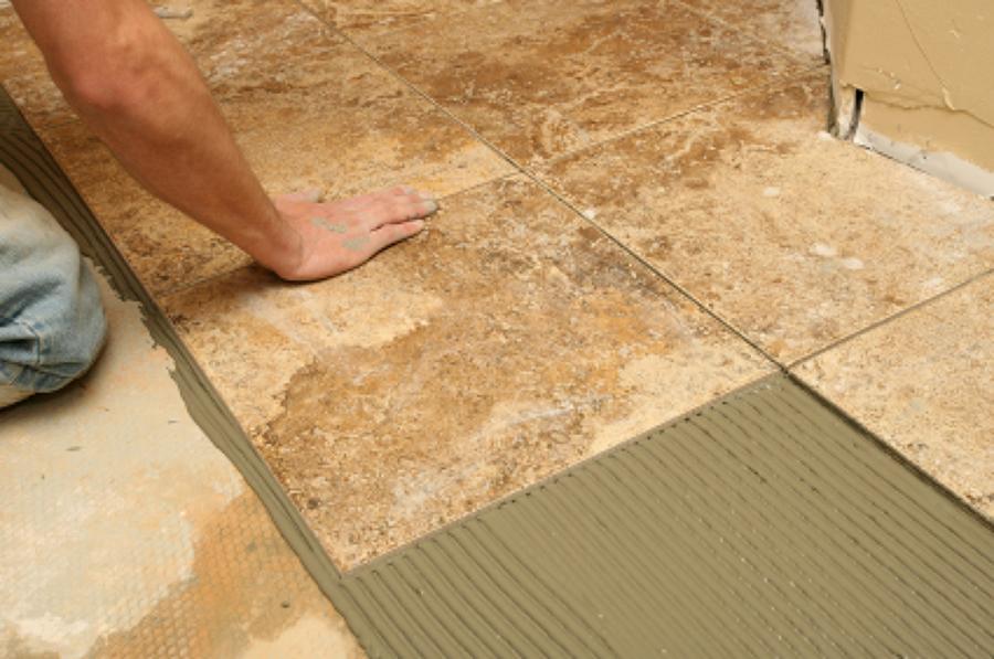 Pavimento rustico per taverna e piastrelle per cucina bagnolo del salento lecce habitissimo - Piastrelle adesive pavimento ...