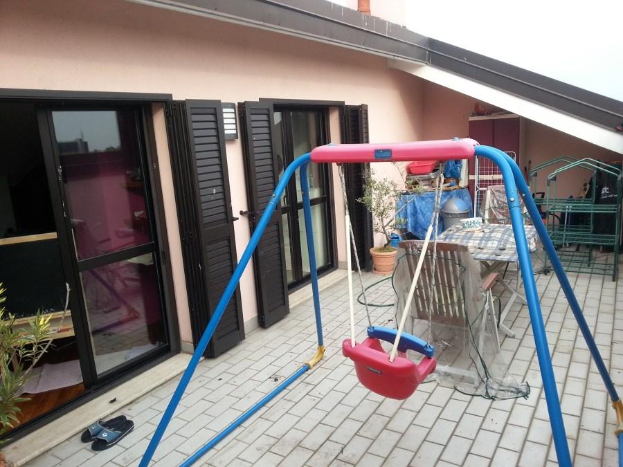 Pergola addossata su terrazzo a tasca san giuliano - Piscina san giuliano milanese ...
