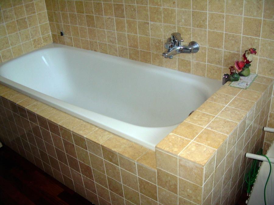 Sosttituzione vasca con box doccia e risistemazione bagno - Bagno doccia vasca ...
