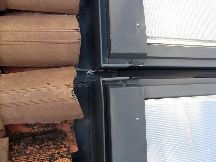 Infiltrazione acqua da lucernari verona verona for Lucernari da tetto