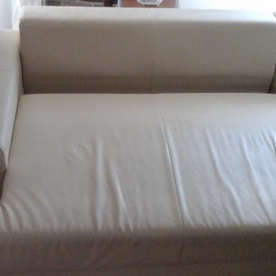 Rifoderare divano letto contenitore con penisola in - Rifoderare divano ...