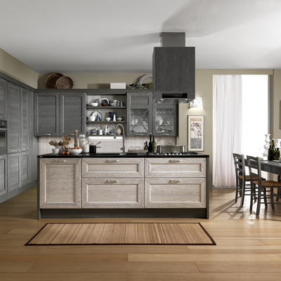 Ante in legno per cucina in muratura - Arzano (Napoli) | habitissimo