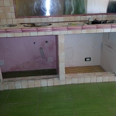 Installare ante in legno per cucina in muratura - Torino (Torino ...