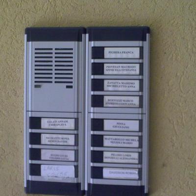 Videocitofono condominio castagnole treviso habitissimo for Videocitofono condominiale