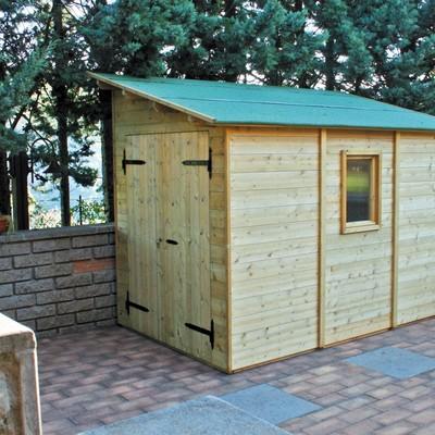 Costruire casetta con pannelli in legno acqui terme for Terreno con casetta in legno