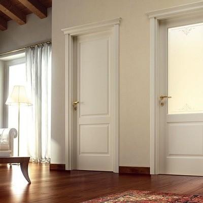 Finestre in pvc porte in laminato bianco pantografate for Finestre in pvc bianche