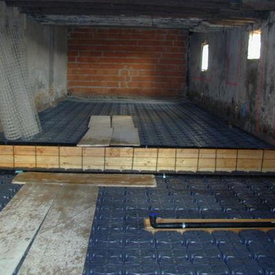 Creare vespaio su pavimento esistente busnago milano - Incollare piastrelle su pavimento esistente ...