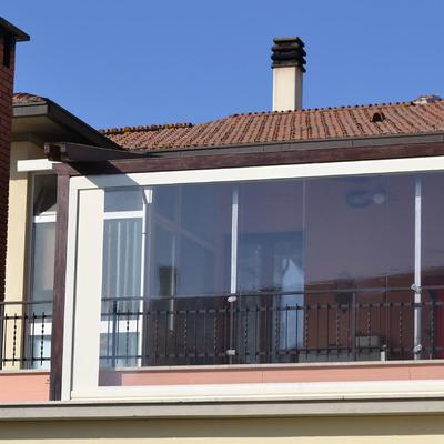 Chiudere terrazza con tende a caduta anti vento - Stintino (Sassari ...
