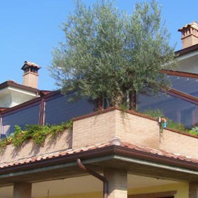 Chiusura terrazzo con tende in pvc - Torreglia (Padova) | habitissimo