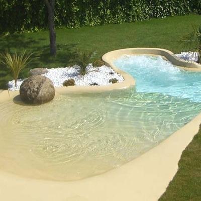 Costruzione piscina effetto naturale con acqua salata cerqueto del tronto teramo habitissimo - Piscina con acqua salata ...