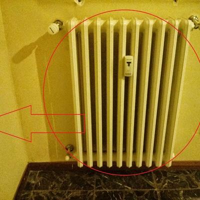 Spostare un termosifone da una parete all 39 altra parete ad - Termosifoni a parete prezzi ...