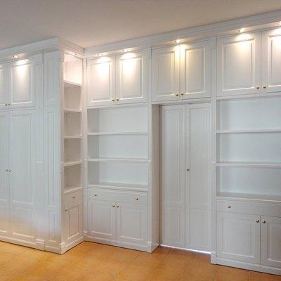 Libreria con cabina armadio + dispensa - Casale (Reggio Emilia ...