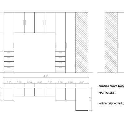 Creare armadio a ponte con angolo - Roma (Roma)   habitissimo