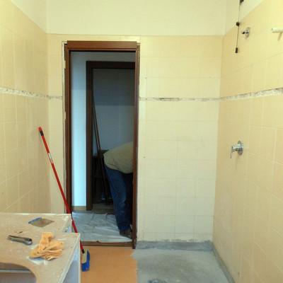 Rivestimento bagno con microcemento - San Giuliano Milanese (Milano ...