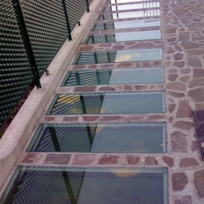 Fornire vetro calpestabile per lucernario piana degli for Lucernario prezzo