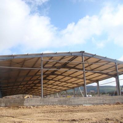 Costruire capannone tipo agricolo uso avannotteria marina for Costruire un capannone