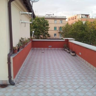 Chiusura tramite veranda di 25 mq di terrazzo - Roma (Roma ...