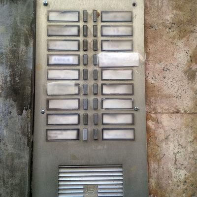 installazione nuovo citofono condominiale san salvario
