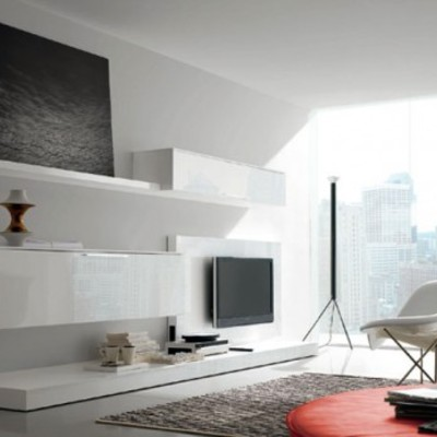 Parete attrezzata moderna design - Caltanissetta (Caltanissetta ...