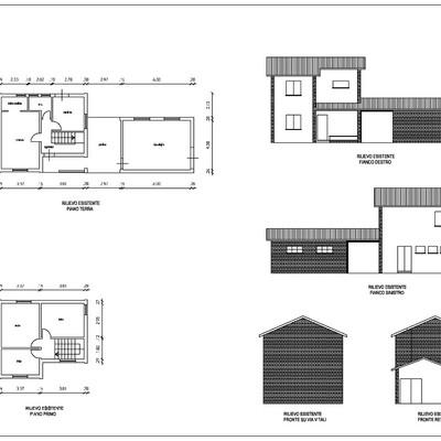 Ampliamento piano terra tetto sant 39 alberto ravenna for Creatore piano terra online