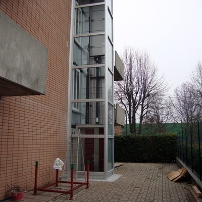 Ascensore Esterno A 3 Fermate Per Edificio Bifamiliare Modena