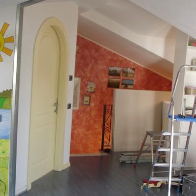 Realizzare parete in cartongesso per chiudere vano scala caslino al piano como habitissimo - Porta per cartongesso ...