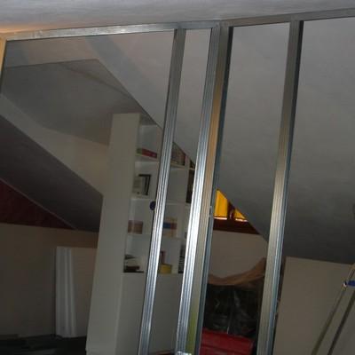 Realizzare parete in cartongesso per chiudere vano scala for Chiusura vano scala interno