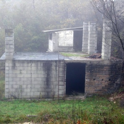 Costruzione casa al rustico di 120 mq 2 piani poggio - Casa al rustico ...