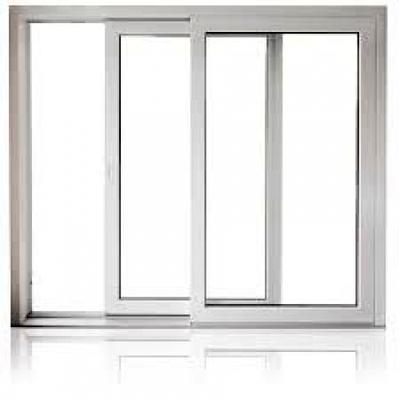 Infissi in legno porta finestra scorrevole con grata for Altezza porta finestra