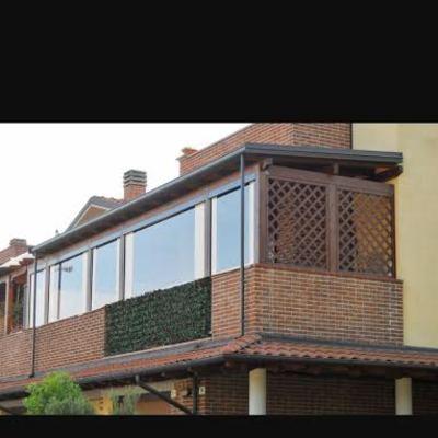 Tettoia in legno per balcone - Vitinia, Roma (Roma) | habitissimo
