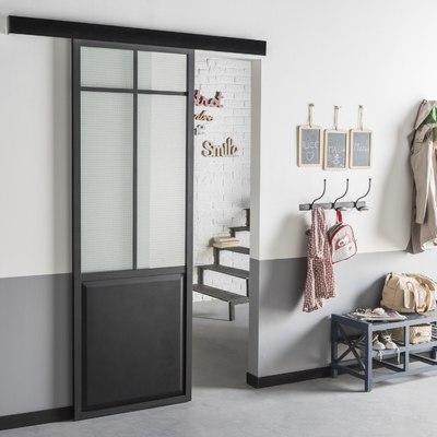 Porta scorrevole vetro tipo atelier quartiere antonini for Fenetre coulissant