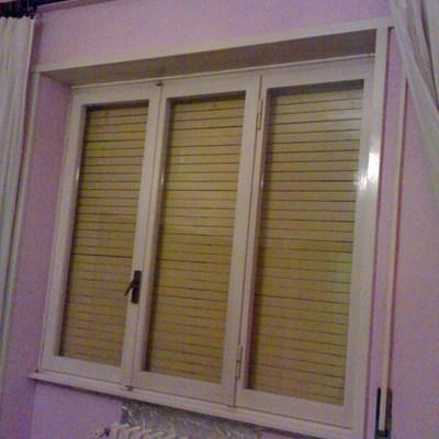 3 finestre infissi nuovi o installazione doppi vetri su - Vetri antiriflesso per finestre ...