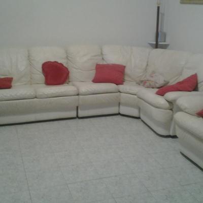 Rifoderare divano angolo in pelle bianca roma roma - Rifoderare divano ...