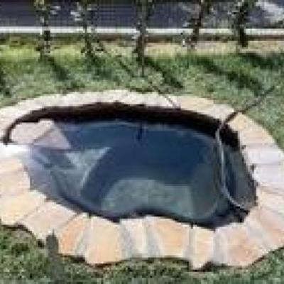 costruire laghetto prefabbricato o in pvc vittorio