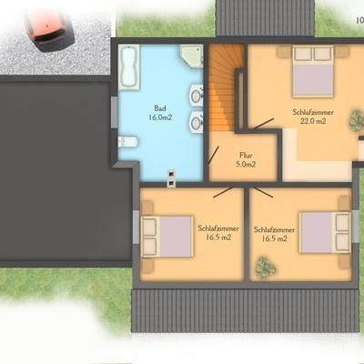 Costruire una casa bifamiliare di circa 140 mq pincara - Costruire una casa prefabbricata ...