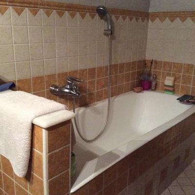 Sostituire vasca da bagno con doccia e spazio lavatrice - Sostituire la vasca da bagno ...