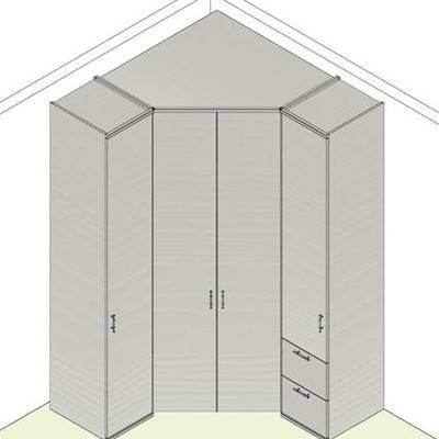 Richiesta preventivo armadio angolare camera da letto - Borgaro ...