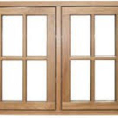 Preventivo di finestre in alluminio di colore marrone for Preventivo finestre alluminio