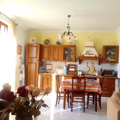 Parete divisorie cucina - soggiorno in cartongesso - Città della ...