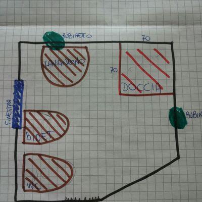 Ristrutturazione bagno padova monta padova padova habitissimo - Progetto bagno 2x2 ...