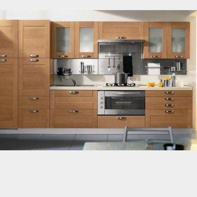 Cucina Moderna Lineare 4m Senza Frigo Con Lavastoviglie Color Legno Noce Napoli Napoli Habitissimo